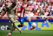 Ni Griezmann, ni Joao, ni Iñaki Williams aparecieron para el Atlético de Madrid