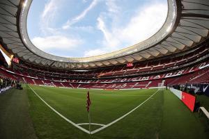El Estadio Wanda Metropolitano del Atlético de Madrid acoge la quinta edición del World Football Summit