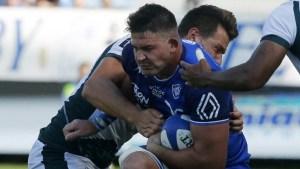 El violento y peligroso derribo que conmocionó al mundo del rugby en Francia (VIDEO)