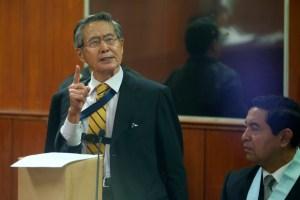 Juez volvió a postergar decisión de juicio a Alberto Fujimori por esterilizaciones