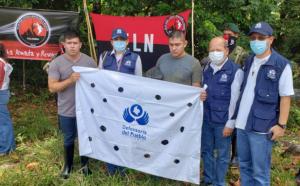 ELN liberó a sargento y soldado colombianos secuestrados en la frontera