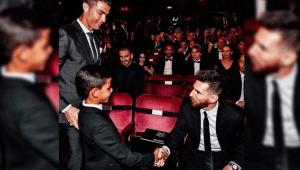 La anécdota divertida del día que el hijo de Cristiano Ronaldo conoció a Leo Messi