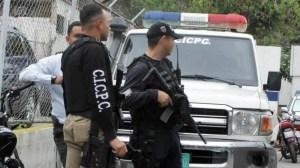 Cicpc captura a cinco personas por hurto a una agencia de festejos en El Cementerio