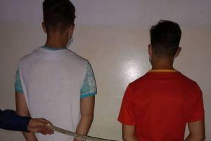 Jóvenes fueron detenidos por robar espada de una estatua de Bolívar en Trujillo