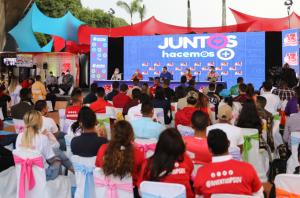 Maduro llegó a dos horas usando la televisión pública para promocionar al Psuv