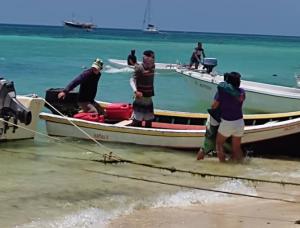 """Fueron rescatados con vida siete tripulantes que viajaban en la embarcación """"Don Rafa Junior"""" (Video)"""