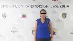 Capturaron a mujer por participar en extorsiones contra comerciantes en Maracaibo