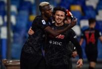Napoli mantiene su pleno de victorias y recuperó liderato de Serie A