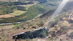 Tragedia en Ecuador: Al menos once fallecidos al precipitarse un autobús a un abismo en una ruta hacia los Andes