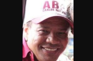 Alianza Bravo Pueblo lamentó la muerte de Carlos Blanco Garnica