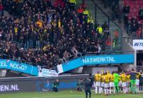 En VIDEO: Colapsó la grada de un estadio durante celebración en Países Bajos