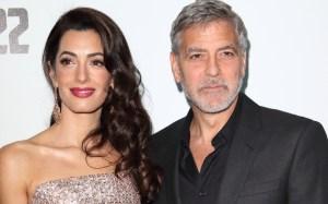 ¡Prohibido! George Clooney no deja que su esposa lo vea como Batman y explicó sus razones